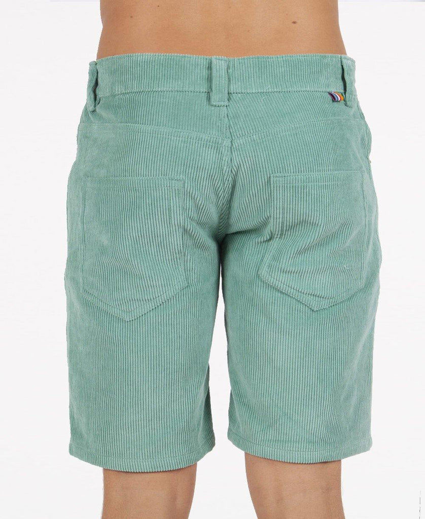 Floyd Cord Walkshort | Surf Green
