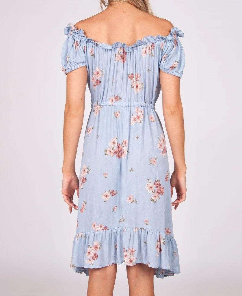 Sabrina Dress | Blue Rose
