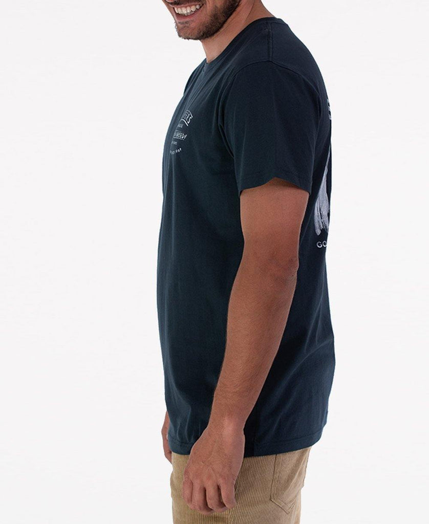 Surfers Board Tee | Navy