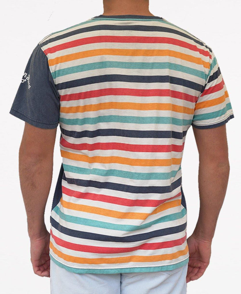Tallows Stripe Tee | Wash Navy