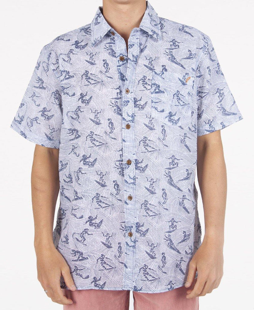Wave Rider Shirt | Dark Denim