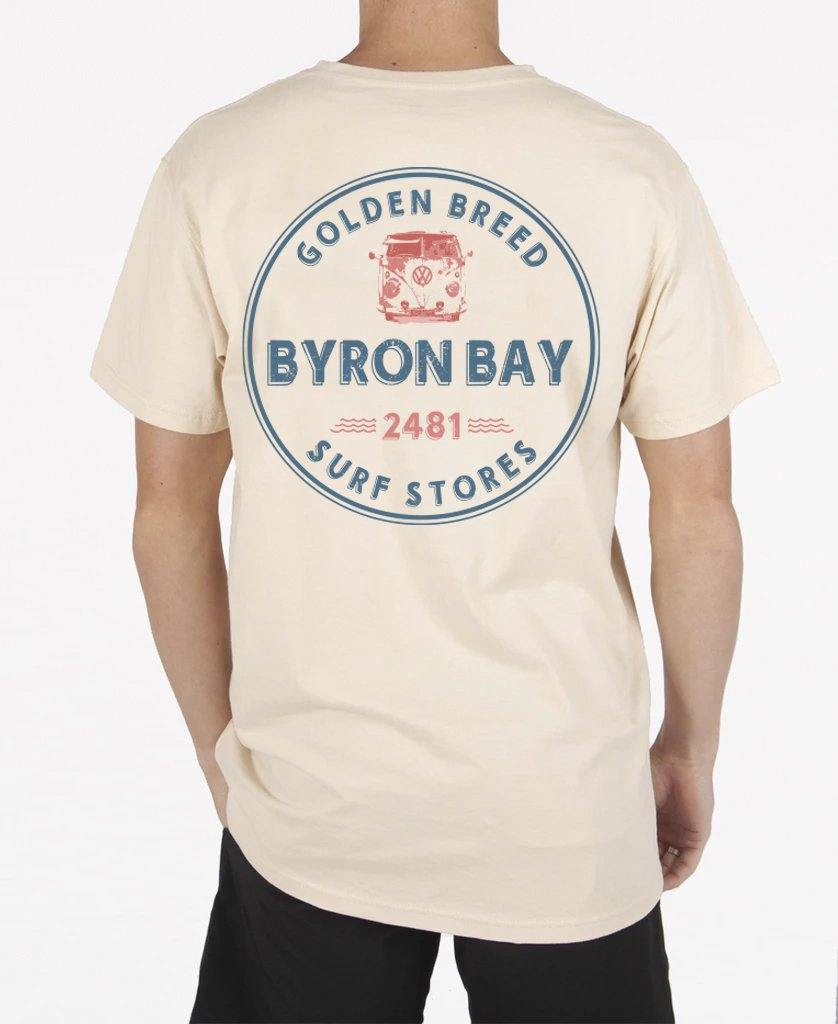 Byron Kombi Tee | Bleach Gold