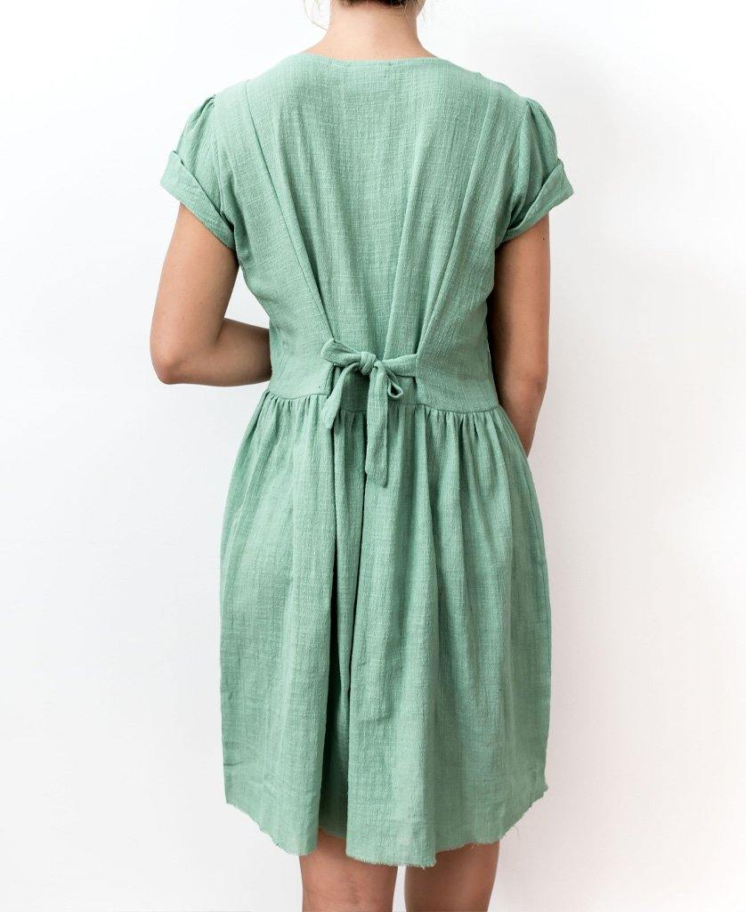 TALI DRESS | Surf Green