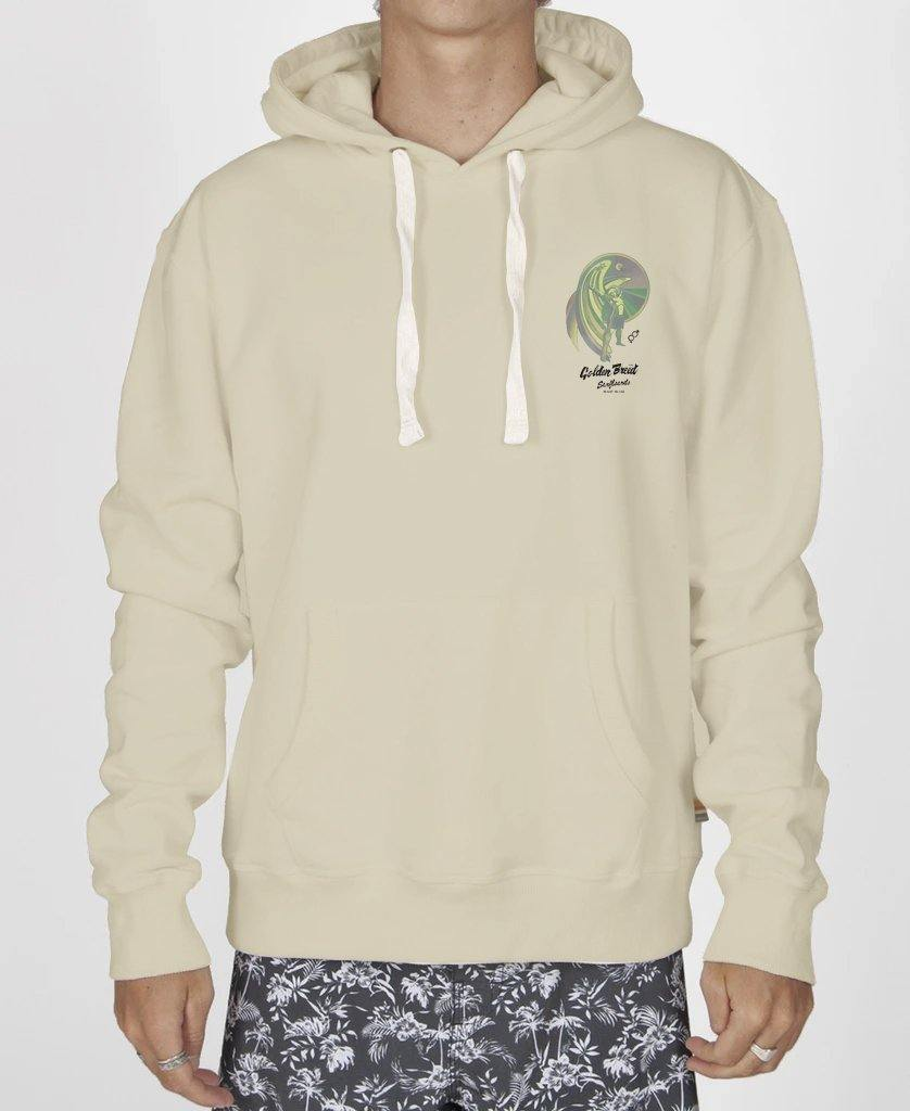 Flying Man Hoodie | Bleach Gold
