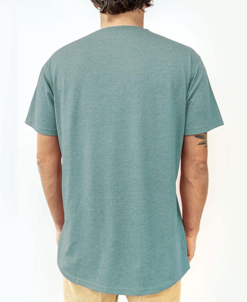Deluxe Retro Surf Tee | Green Zumba