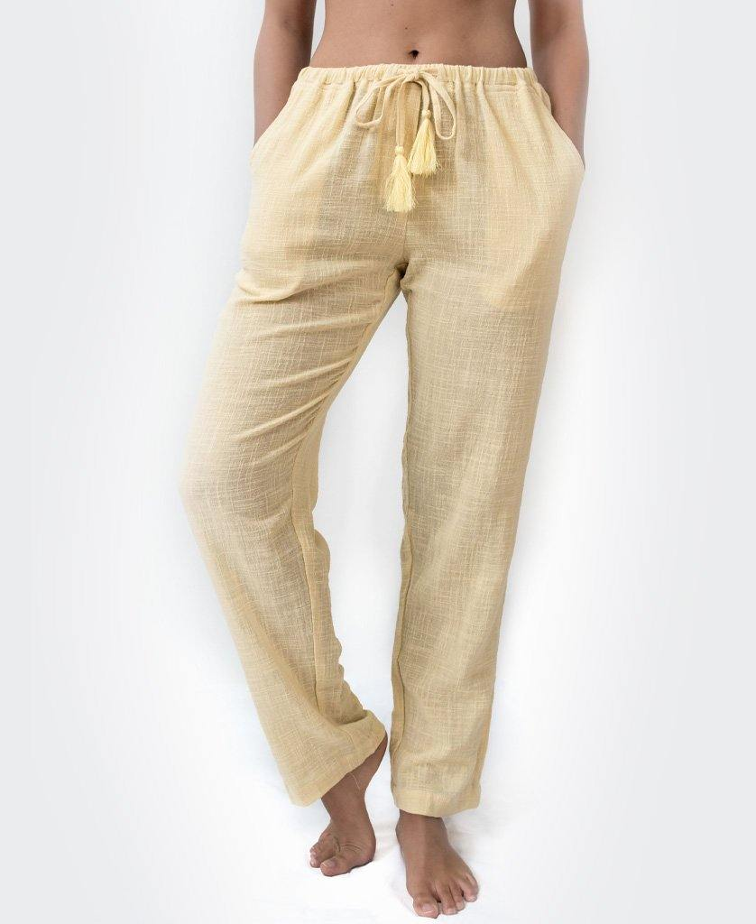 BEKKA PANT | Bleach Gold