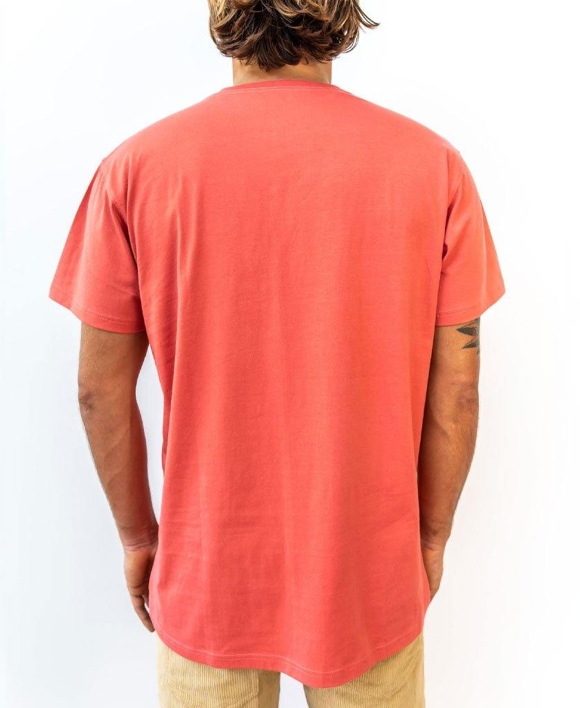 Retro Tee | Wash Red