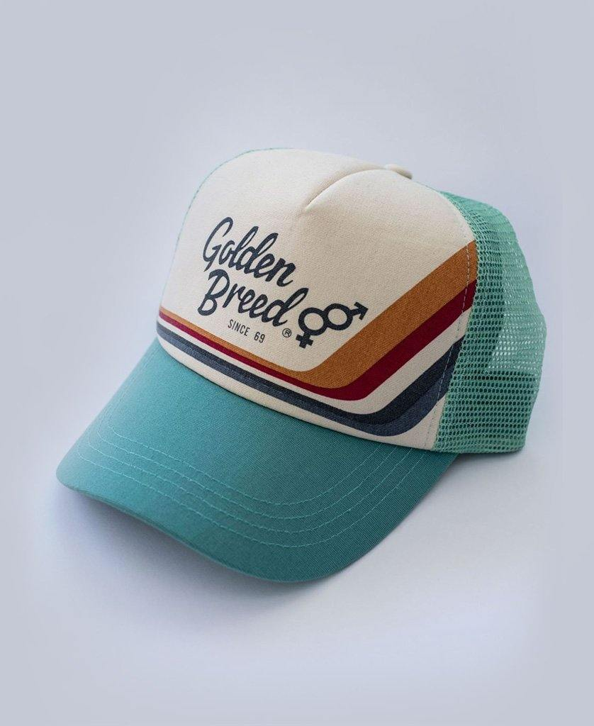 GB Retro Trucker Cap | Light Teal