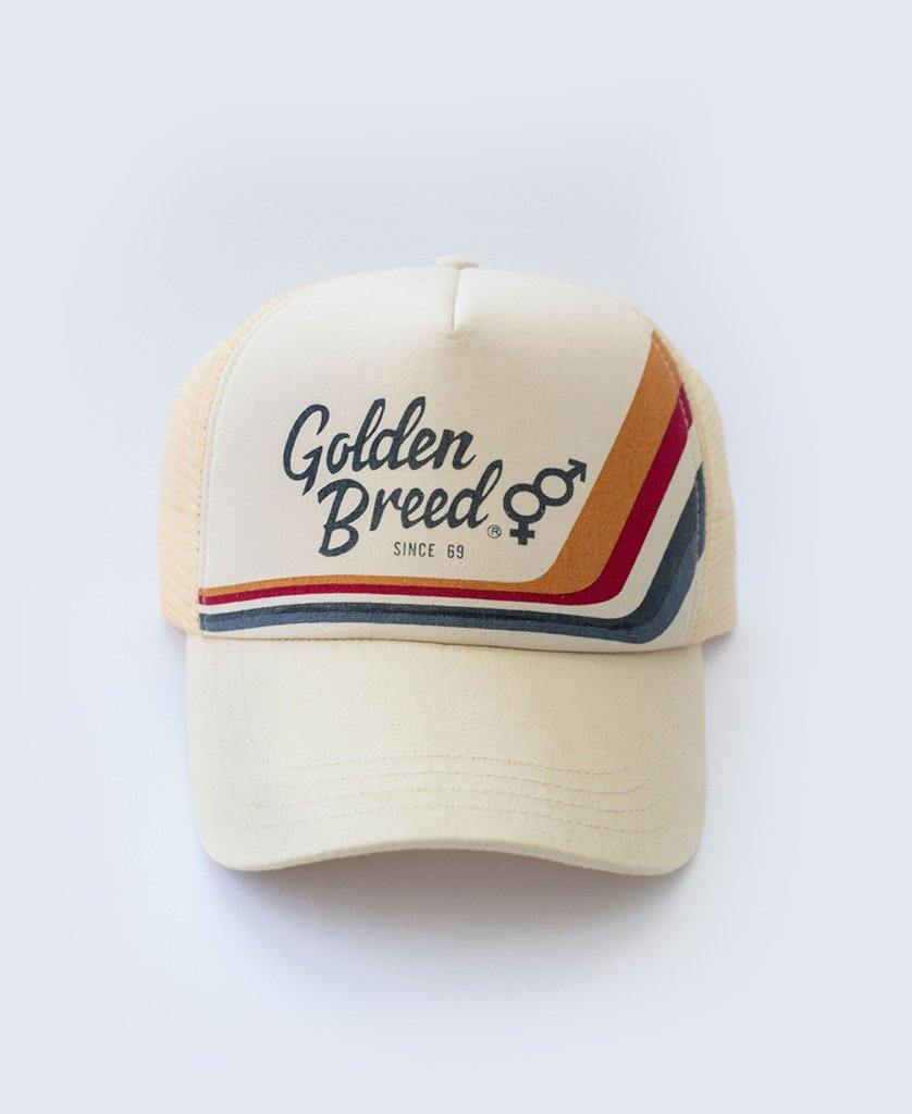 GB Retro Trucker Cap | Bleach Gold