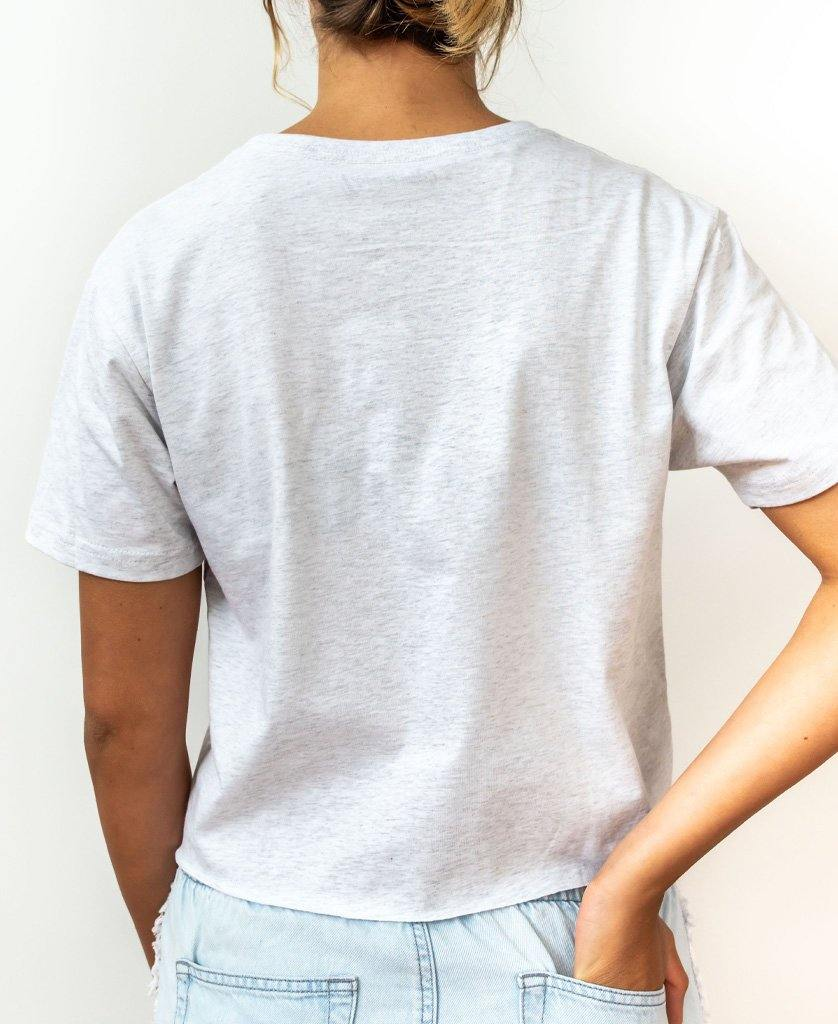 BILLIE TEE | White Misty