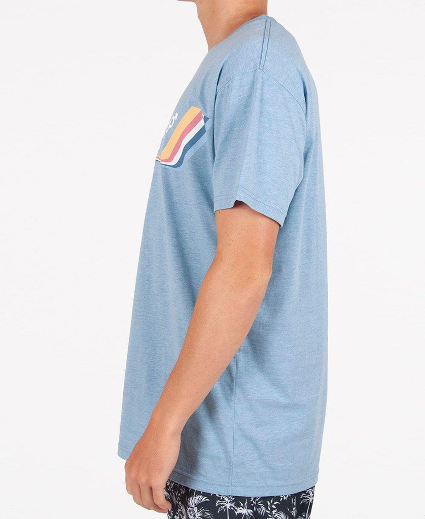 Deluxe Retro Surf Tee | Sea Blue
