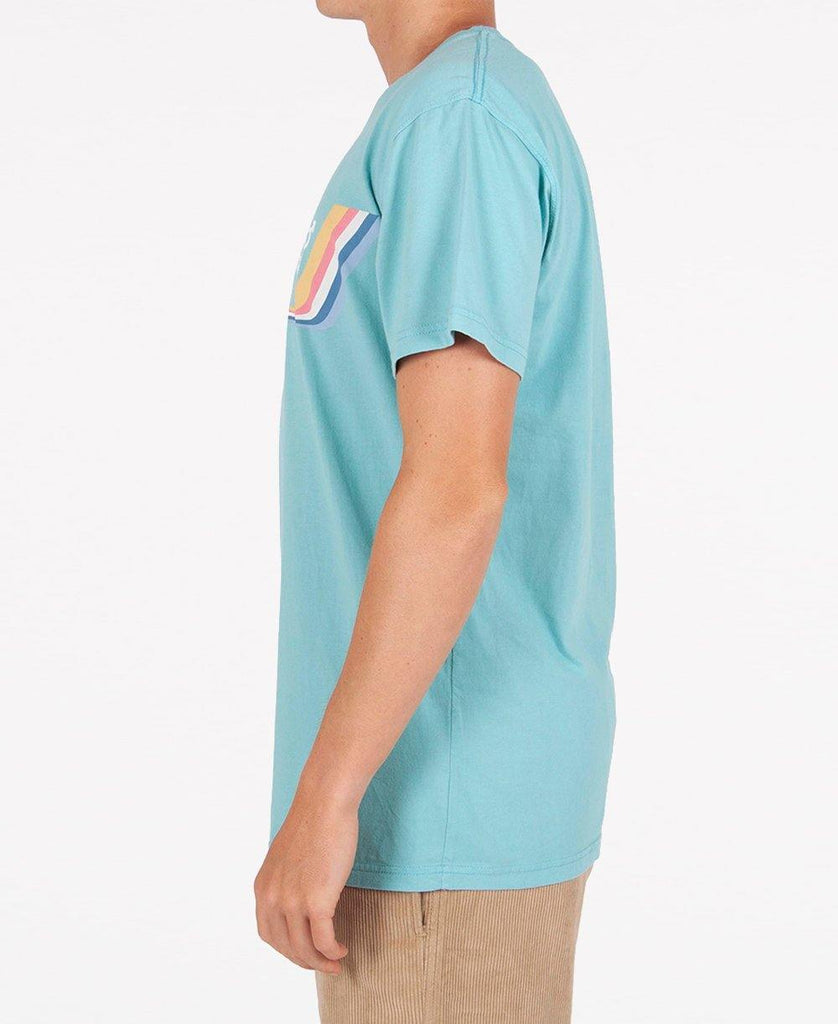 Retro Tee | Wash Blue