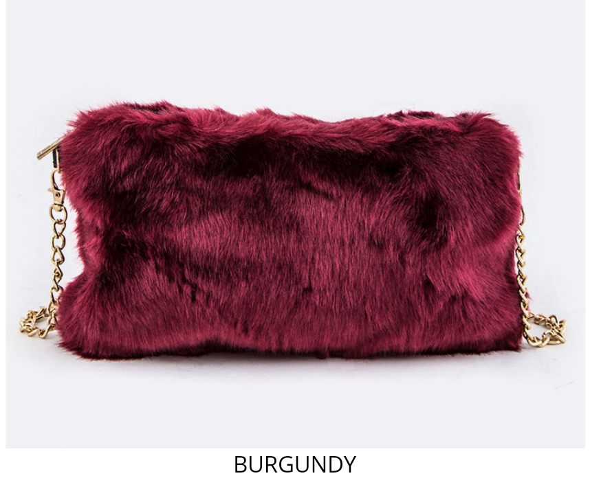 Fur Crossbody Handbag