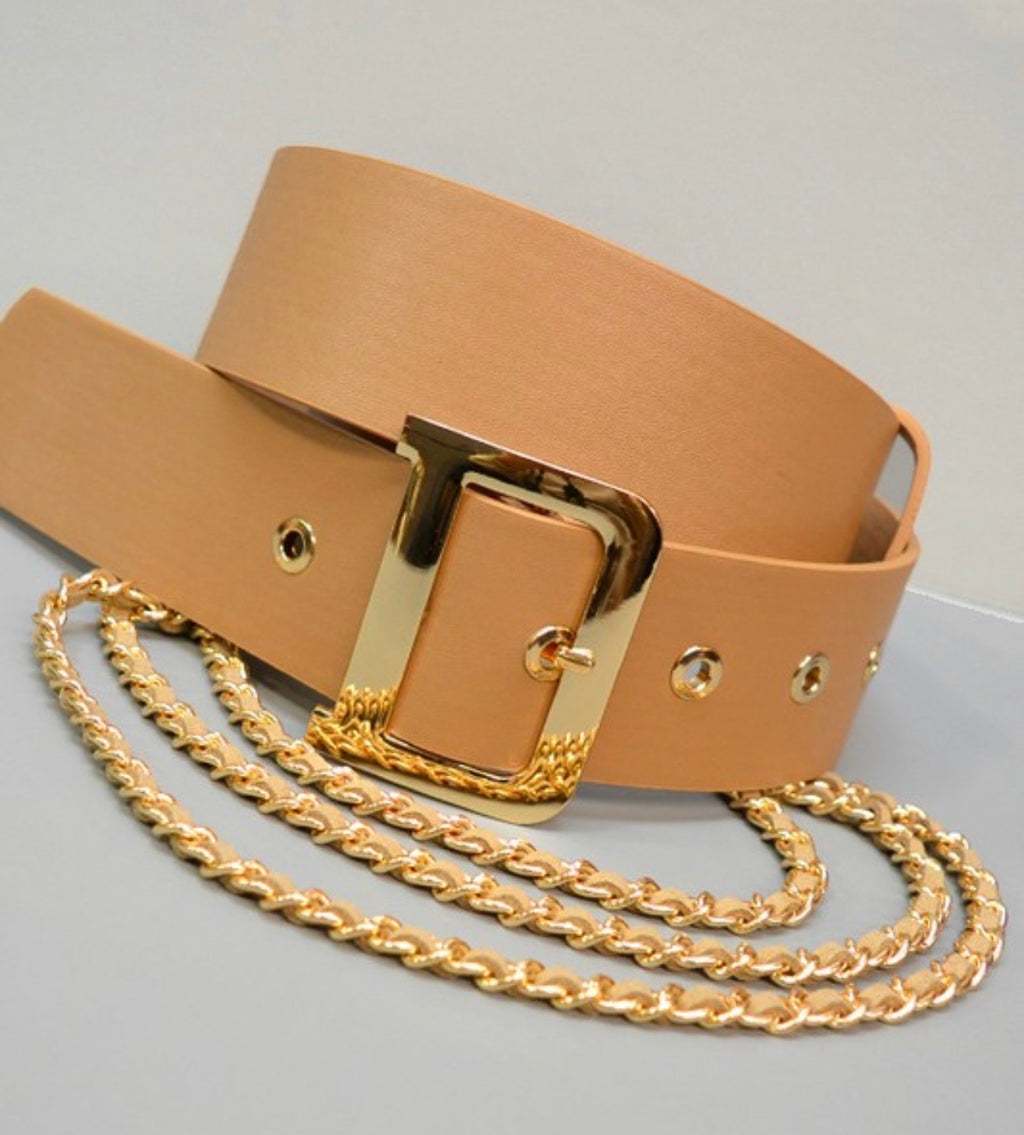 Waist Belt with Chain