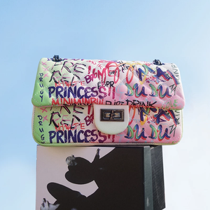 Graffiti Ice Purse