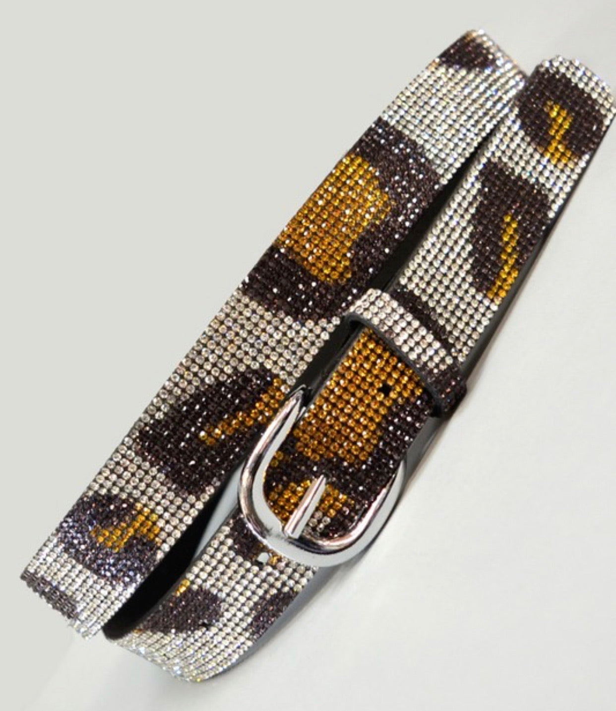 Bling Leopard Belt