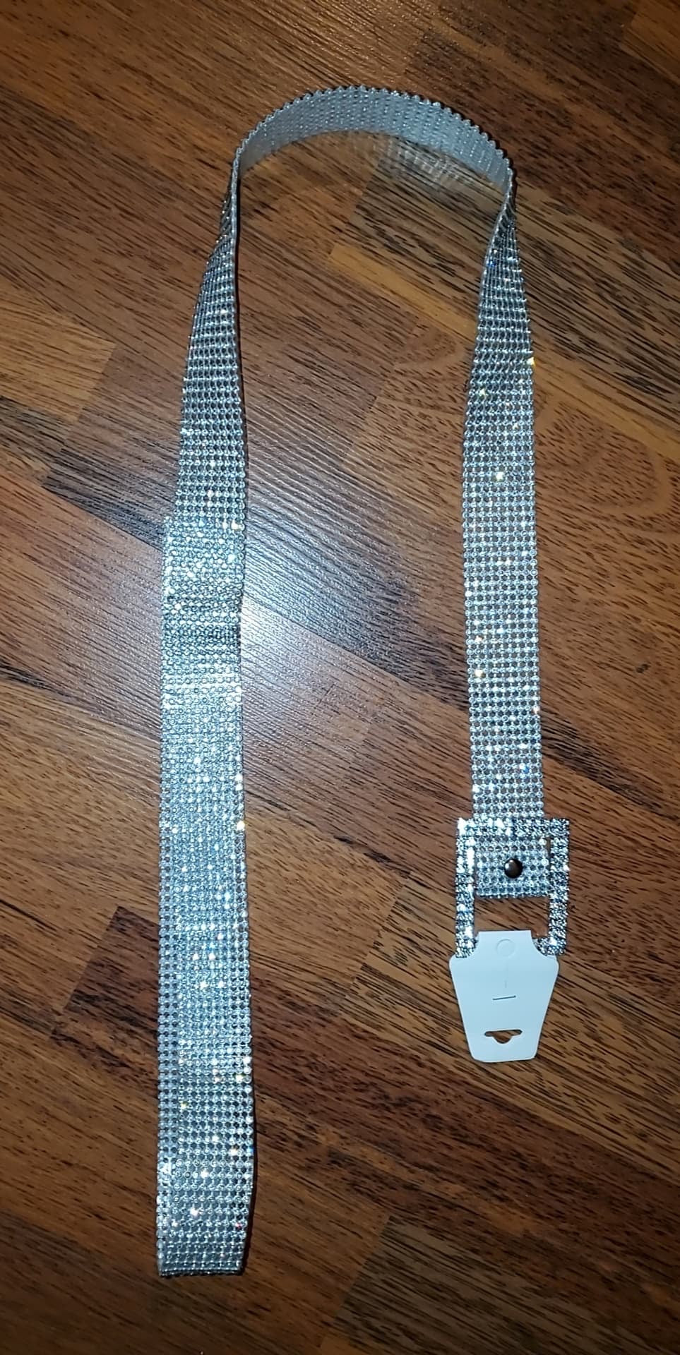 Bling Diamond Belt Square Buckle