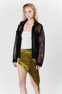 Golden Reversible Skirt