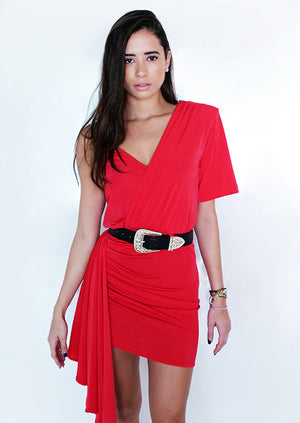 Roxy Dress Rojo