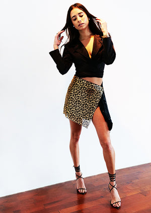 Babi Skirt Leopardo