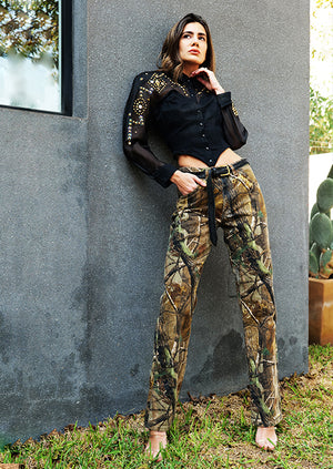 Vintage Camouflage Pants