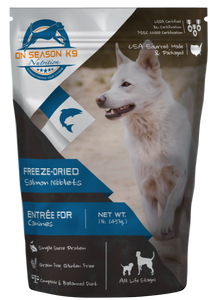 Freeze Dried Raw Salmon Bites