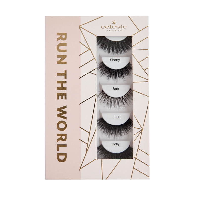 Run the World Mini Lash Book