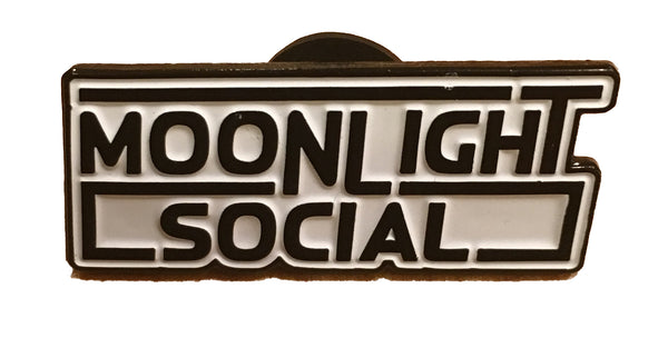 Moonlight Social Enamel Pin