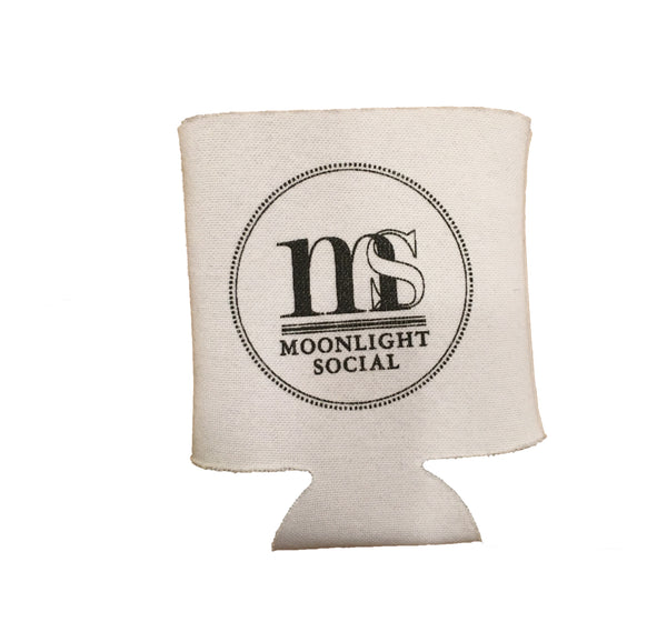 CLEARANCE — LIMITED QUANTITY — Original Moonlight Social Logo Koozie