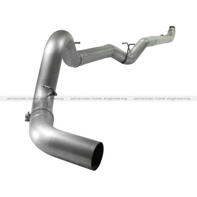"2007.5 - 2010 Duramax 5"" Downpipe-Back Aluminzed Steel Exhaust System"