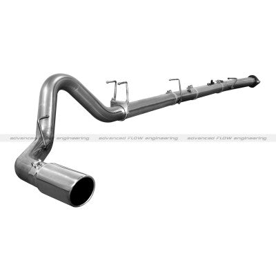 "2008 - 2010 6.4L - 4"" Downpipe-Back Stainless Steel Exhaust Race System -NM"