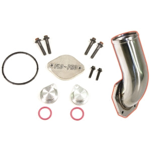 Flo~Pro EGR Cooler & Valve Delete Kit With Intake Elbow
