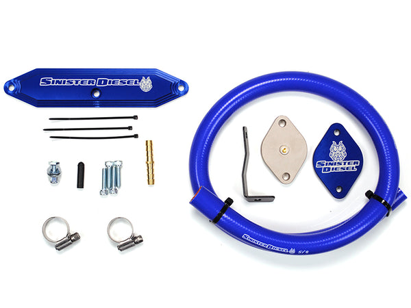Sinister Diesel EGR Delete Kit (Uses Factory EGT Probe) For Ford Powerstroke 2011-2014 6.7L