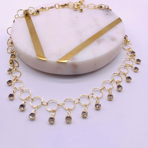 Star shiny  choker