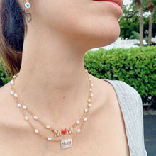 Load image into Gallery viewer, MOM  & MAMÀ multicolor necklace