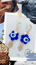 Load image into Gallery viewer, Good vibes set earrings & necklace - Cheleaccesorios