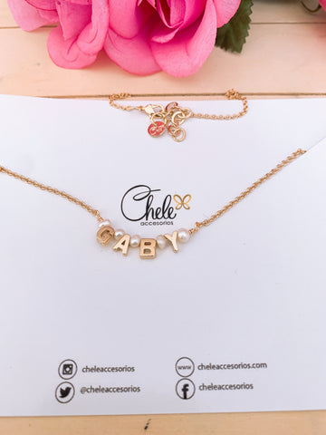 Personalized name - Cheleaccesorios