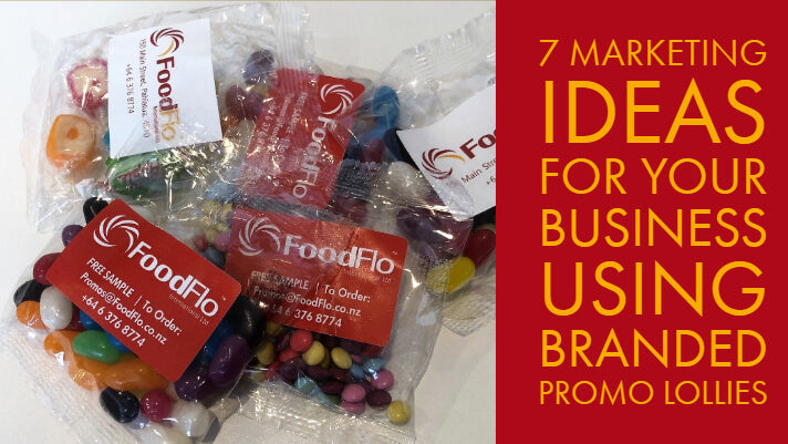 7 Marketing Ideas For Your Business - Using Branded Promo Lollies