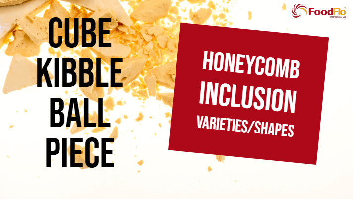Honeycomb Inclusion Shapes - Cubes, Pieces, Balls & Kibbles