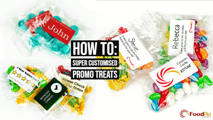 Personalised Marketing Using Promotional Lollies