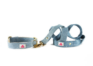 Light Wash Denim leash
