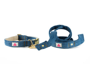 Medium Wash Denim collar