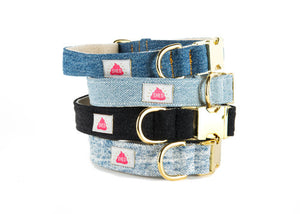 Light Wash Denim collar