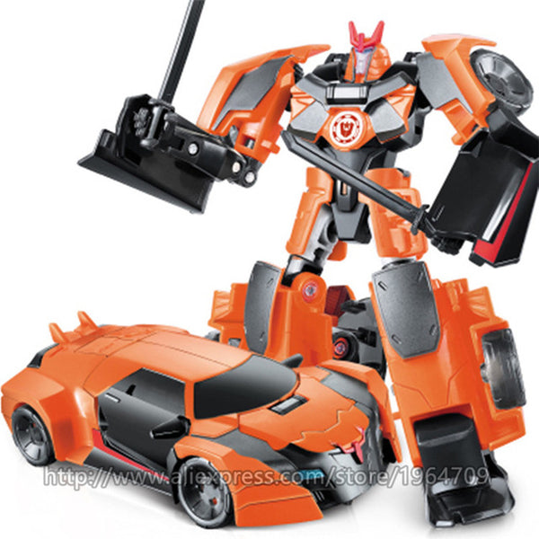 Cool Anime Transformation Toys Robot Cars Super Hero Action Figures Brand Model Kit 3C Plastic Kids Toys Gifts For Boys Juguetes