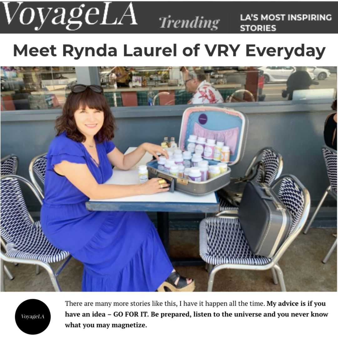 Voyage LA: LA's Most Inspiring Stories with Rynda Laurel of VRY Everyday.