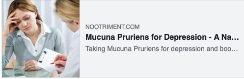 Mucuna Pruriens for Depression - A Natural Dopamine Booster via Nootriment.