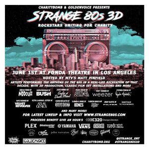 VRY Supports Charity Bomb / 320 Changes Direction / Give an Hour at Strange 80's 3D