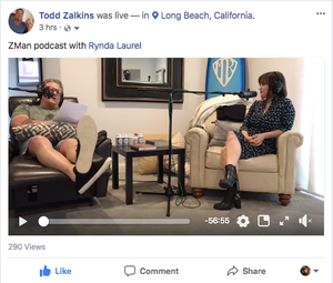 Rynda Laurel on the Z-Man Podcast with Todd Zalkins