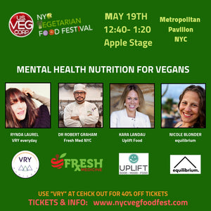VRY at NYC Vegetarian Food Festival May 18/19