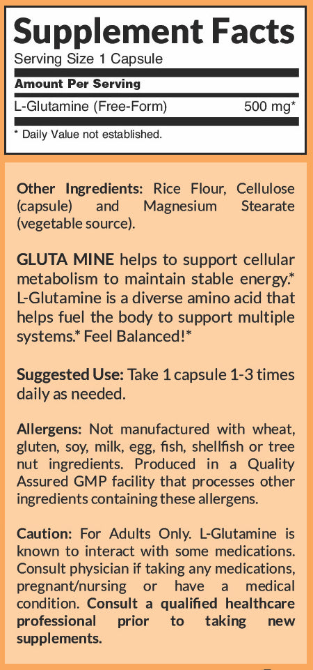 GLUTA MINE - FEEL BALANCED